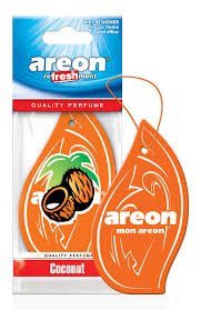 "<b>Ароматизатор для автомобиля</b> ""Coconut"" <b>AREON</b> REFRESHMENT"