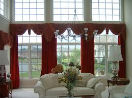 Red Curtains Living Room Simple Ideas Window Treatments For Living Room Interesting 30