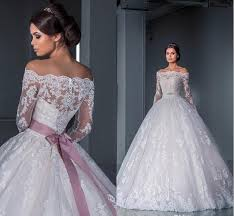discount luxurious ball gown princess lace wedding dresses 2016