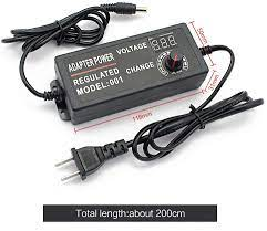 Buy DC 3-12V 5A 60W Universal Switching Adjustable Power Supply Adapter  100-240 AC (US Plug) Power Converter for LED Strip Light, TV Box, Tablet,  Camera, BT Speaker (3-12V 5A) Online in Indonesia.