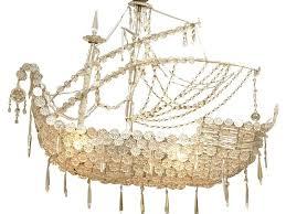 crystal ship chandelier pirate junk gypsy crystal ship chandelier