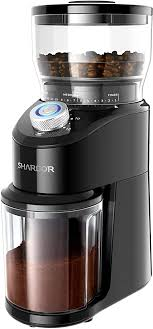 4.3 out of 5 stars with 3 reviews. Amazon Com Shardor Conical Burr Coffee Grinder Electric Adjustable Burr Mill With 14 Precise Grind Setting For 2 12 Cup Black Kitchen Dining