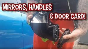 removing mirrors handles door card corsa vxr