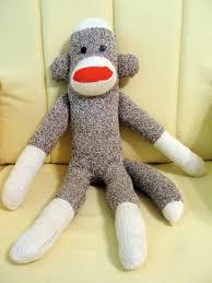 diy sew a sock monkey