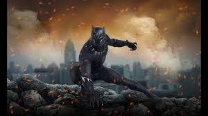 photo tutorial how to make marvel superhero wallpaper black panther marvel