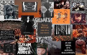 Halloween desktop wallpaper, Aesthetic ...