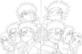 Anime Naruto Coloring Pages Printable For Kids Free Book Page 3