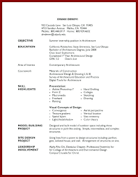 Cal Poly Resume Examples Summer Job Resume Examples Ptctechniques Info