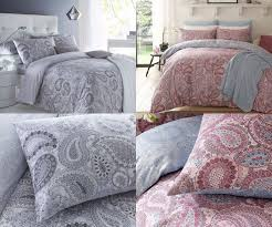 paisley grey paisley purple duvet cover sets with pillow cases bedding set