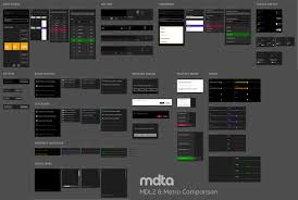 How To Enlarge A Design From Metro To Microsoft Design Language 2 A Side By Side