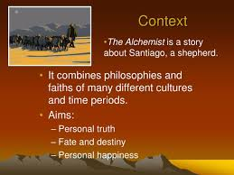 ppt the alchemist powerpoint presentation id  the alchemist is a story about santiago a shepherd