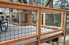 Image Exterior Deck Wild Hog Brand Metal Deck Railing Installed On Deck In Kachina Village Near Flagstaff Arizona The Railing Consists Of Black Painted Welded Wire On Pinterest 163 Best Wild Hog Deck Railing Images In 2019 Deck Railings