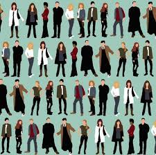 20 best Dr. Who/ TARDIS quilt images on Pinterest | Tardis ... & doctors and friends fabric by scrummy on Spoonflower - custom fabric ~  doctor who / dr who / captain jack / rose / martha / donna / river / rory /  amy Adamdwight.com