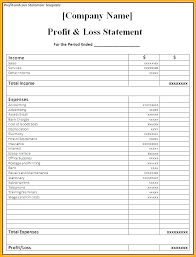 Profit Loss Template Excel Business Plan Template With Financial Profit And Loss Medium