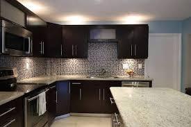 contemporary kitchens with dark cabinets. Dark Kitchen Cabinets Backsplash Ideas The Interior Contemporary Kitchens With