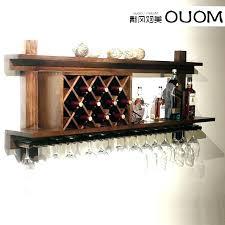 wooden wine glass holder wooden wine glass holder wall mounted wine glass rack impressive mounted wine