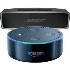 bose bluetooth speakers amazon. bose® - soundlink® mini bluetooth speaker ii (carbon) \u0026 amazon echo dot (black) bose speakers