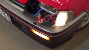 Honda CRX First Generation - Front Lighting - YouTube