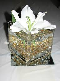 centerpiece for 50th wedding anniversary tables