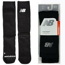 New Balance Lightweight <b>Running</b> Crew Socks Men's XL Black <b>Flat</b> ...