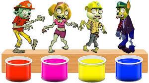 Bathing Colors Fun L Paw Patrol Transforms Into Zombie L Color For