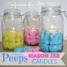 Decorate Jar Candles Easter FunMy Peeps Mason Jar Candles Hometalk 76
