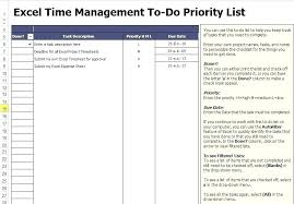 Microsoft Excel Project Template Microsoft Templates To Do List Project Task List Template