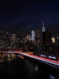 New York City 4K Wallpaper, Night ...