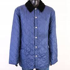 Barbour Size Chart Mens Details About R Barbour Mens Jacket Quilted Dark Grey Size Xl
