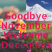 Image result for picture of welcome to december