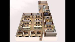 3d office floor plan. Modren Office To 3d Office Floor Plan F