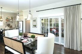 window treatment for sliding doors in kitchen sliding door treatment ideas fabulous patio door treatments patio