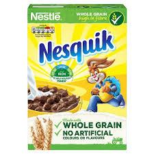 nestle nesquik cereal 375g