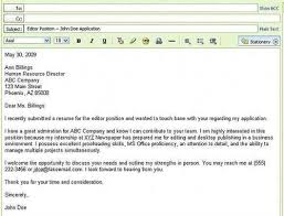 how to send resume through email