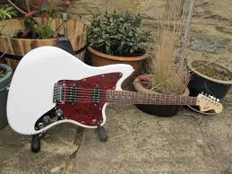 affinity jazz neck and pickguard