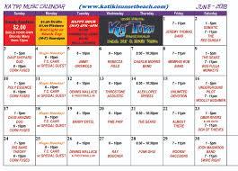 2018 Light The World Calendar June Music Calendar 2018 Katiki Sunset Beachkatiki