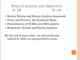a genda review rhetorical analysis and synthesis essays and thesis