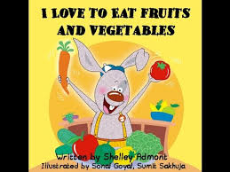 reading aloud books bedtime story book i love to eat fruits and etables healthy food for kids