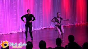 David Stein & Meagan Brown - Salt Lake Salsa Fest 2016 - YouTube