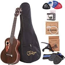 Amazon.com: Tenor ukulele 26 <b>inch</b> professional rosewood ukulele ...