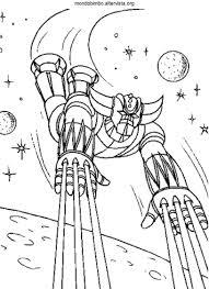 Ufo Robot Goldrake Disegno Da Colorare