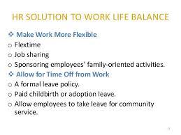 work life balance ppt work life balance 11