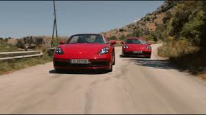 2018 porsche cayman gts. Interesting 2018 2018 Porsche 718 Boxster GTS And Cayman Unleashed With 365 HP  Throughout Porsche Cayman Gts