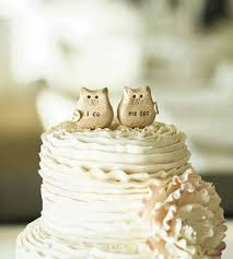 Cat wedding cake topper i do me too cats and LOVE banner