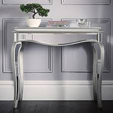 mirror console table. Reflections Mirrored Console Table Mirror
