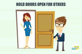 hold door open hold doors open for others to develop good manners door hold open magnets hold door open