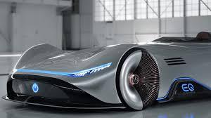 mercedes benz silver arrow. Brilliant Mercedes Mercedes Benz Vision EQ Silver Arrow Concept Footage For