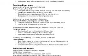 Pre K Resume Example Example Art Teacher Resume Free Sample Resume ...