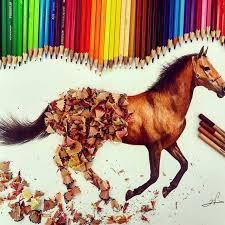 horse drawing in color.  Drawing Horse Drawing In Color  Photo17 And Drawing In Color