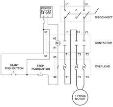 3 phase contactor wiring wiring diagram 1 vs 3 phase contactors contactors overloads product guides 3 phase contactor wiring diagram start stop 3 phase contactor wiring
